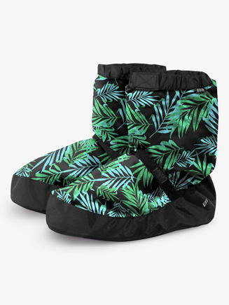Womens Printed Dance Warm-Up Booties - Style No IM009P