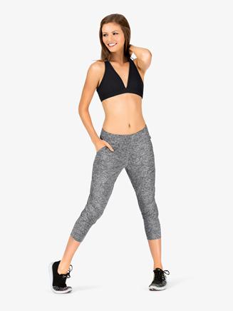 Womens Capri Workout Pants - Style No K3839x