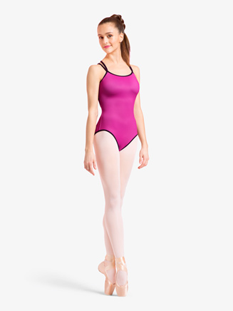 Womens Reversible Crisscross Camisole Leotard - Style No L1847