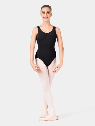 Adult Gathered Bodice Tank Dance Leotard - Style No L5415