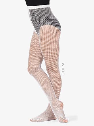 Girls Basic Fishnet Dance Tights - Style No LA4067