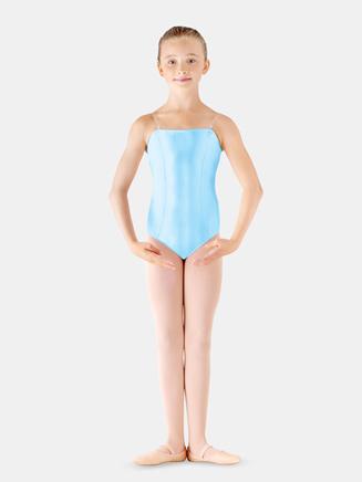 Girls Satin Basic Camisole Leotard - Style No LD135CSx