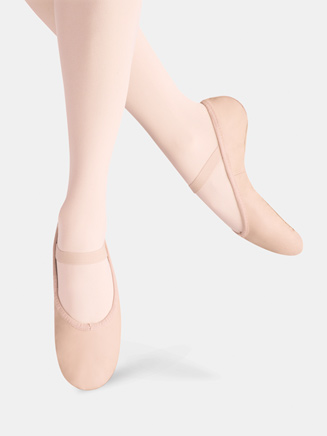 Girls Ballet Russe Full Sole Ballet Slipper - Style No LS2001G