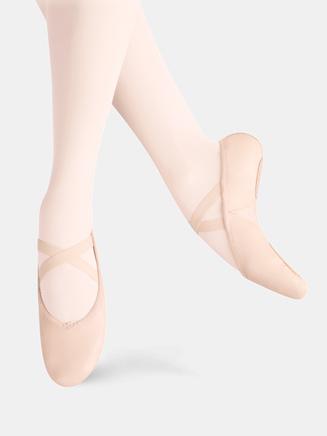 Adult Arabesque Leather Ballet Slipper - Style No LS2005L