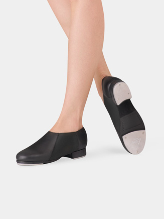 Adult Slip On Jazz Tap Shoes - Style No LS3007Lx