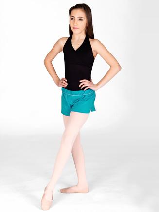 Adult Unisex Elastic Waist Dance Short - Style No M037