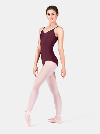Adult Princess Seam Cotton Camisole Dance Leotard - Style No M207L
