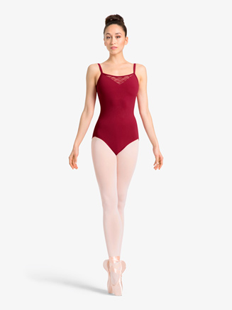 Womens Wavy Mesh Sweetheart Camisole Leotard - Style No M2146LM