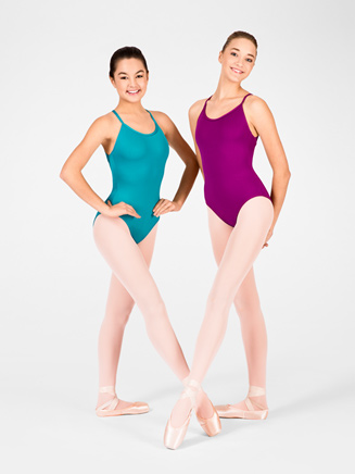 Adult Drape Back Leotard - Style No M2622