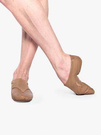 """Girls """"Motion"""" Leather Jazz Shoes - Style No MOTC"""