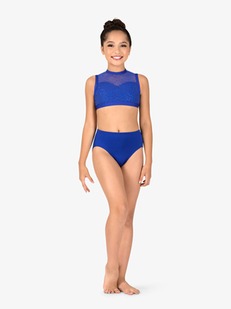 Girls Performance MicroTech Jazz Cut Briefs - Style No MT089