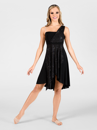 Adult Asymmetrical Lyrical Dress - Style No N7047