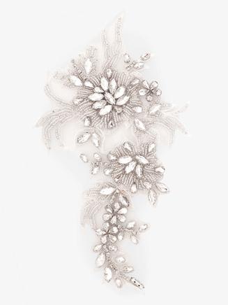Sew On Crystal Rhinestone Applique - Style No N711