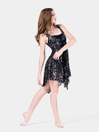 Adult Lace Tank Sequin Overdress - Style No N7182