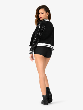 Adult Sequin Varsity Jacket - Style No N7218