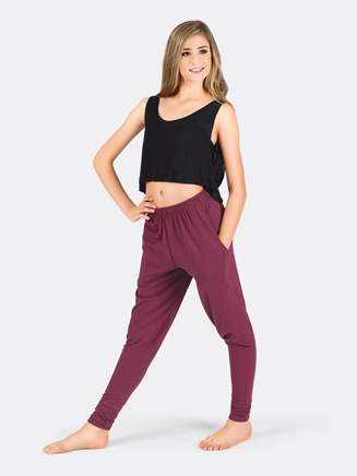 Adult Harem Pull-On Sweatpant - Style No N7235