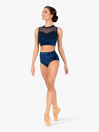 Womens Performance Velvet Briefs - Style No N7792