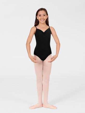 Adult Pinched Professional Camisole Dance Leotard - Style No N8041
