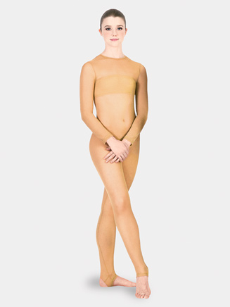 Adult Long Sleeve Body Stocking - Style No N8150