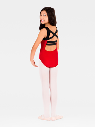 Elastic Back Child Tank Leotard - Style No N8608C
