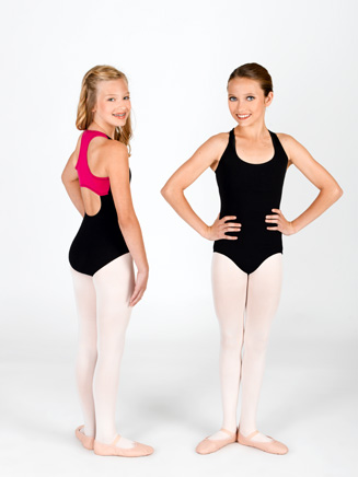 Child Racer Back Tank Leotard - Style No N8610C