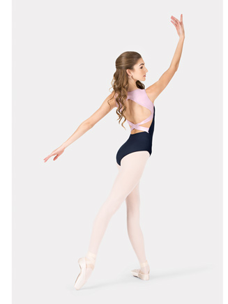 191ca39eb0c Free Shipping - Adult Tank Two-Tone Crisscross Back Leotard by NATALIE
