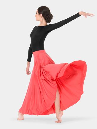 Adult Hi-Lo Pull-On Skirt - Style No N8851