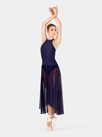 Adult Mock Neck Dress - Style No N8892