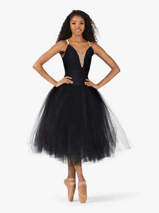 Adult Fasten Back Romantic Tutu - Style No N8894