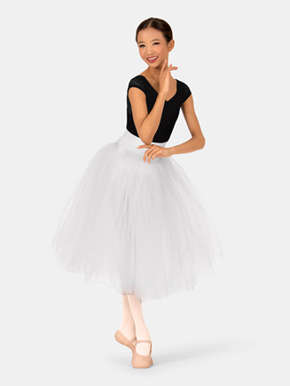 Child Fasten Back Romantic Tutu - Style No N8894C