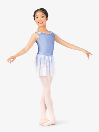 Girls Lace Pull-On Ballet Skirt - Style No N8960C