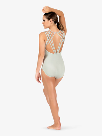 Womens Multi-Strap Back Camisole Leotard - Style No N9009