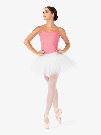 Womens Short 4-Layer Ballet Tutu Skirt - Style No N9010