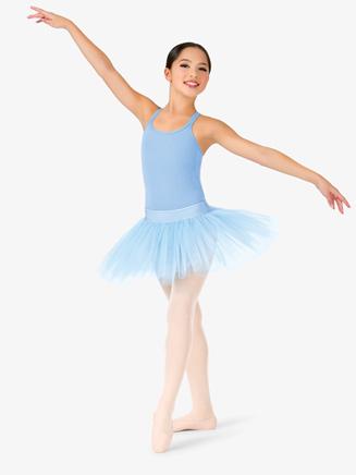 Girls Short 4-Layer Ballet Tutu Skirt - Style No N9010C