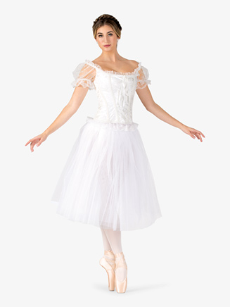 Womens Romantic Length Ballet Tutu Skirt - Style No N9013x