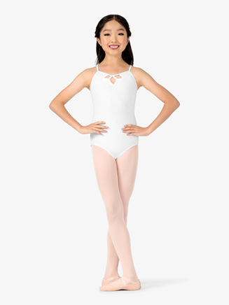 Studio Collection Girls Strappy Back Cotton Camisole Leotard - Style No N9019C