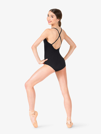 Studio Collection Womens Crisscross Back Cotton Leotard - Style No N9021