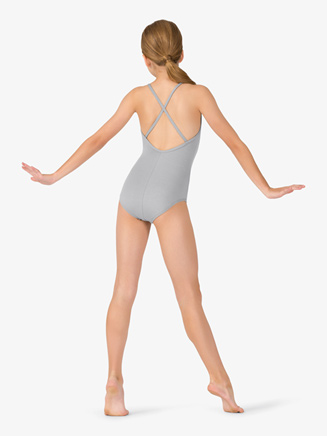 Studio Collection Girls Crisscross Back Cotton Leotard - Style No N9021C