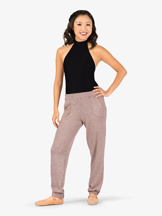 Womens Cuffed Warm Up Pants - Style No N9085