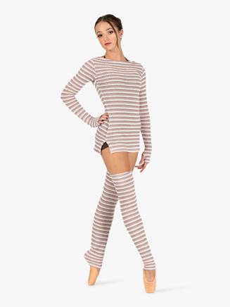 Womens Knit Legwarmers - Style No N9105