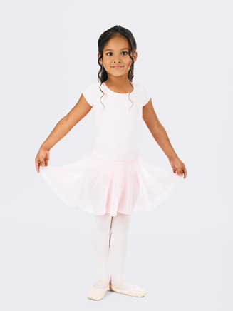 Child Skirt with Lettuce Edging - Style No N9301C