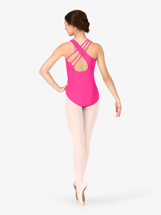 Asymmetrical Adult Tank Leotard - Style No N9502