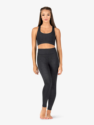 Womens Compression Fitness Leggings - Style No NA134