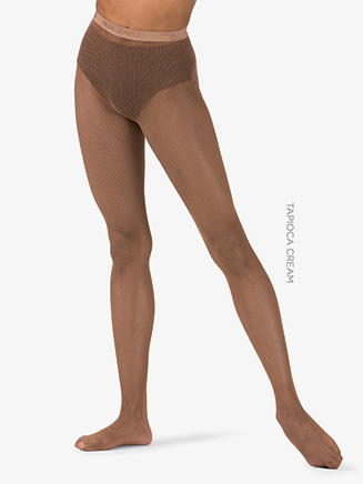 Womens Footed Fishnet Dance Tights - Style No NB002