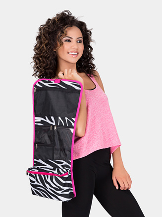 Cosmetic Hanging Bag with Zebra Print - Style No NZ3424