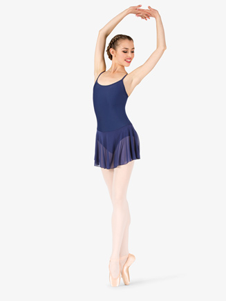 Womens Short Camisole Ballet Dress - Style No P204x