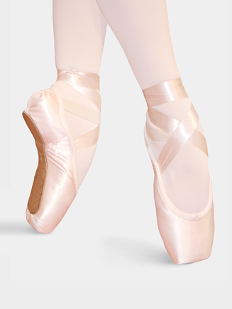 Adult Pre Arched Pointe Shoes - Style No PA107