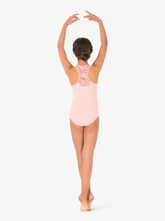 Girls Sequin Lace Tank Leotard - Style No PB2032Cx