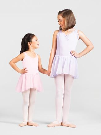 Child Tapered Chiffon Skirt - Style No PB513C