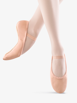 """Dansoft"" Adult Full Sole Leather Ballet Slipper - Style No S0205L"